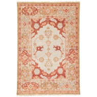 Jaipur Azra Rug From Village By Artemis Collection VBA04 - Red/Tan