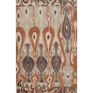 Jaipur Sphere Rug From Verna Collection VEN02 - Gray/Orange