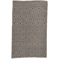 Jaipur Flume Rug From Waveny Collection WAV01 - Black/Cream