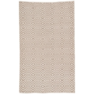 Jaipur Flume Rug From Waveny Collection WAV02 - Taupe/Cream