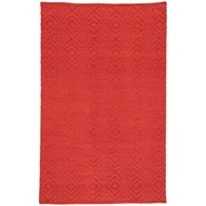 Jaipur Flume Rug From Waveny Collection WAV04 - Red/Orange