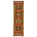 Runner View - Jaipur Amman Rug From Bedouin Collection - Zinfandel/Wood Thrush BD04