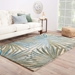 Room View - Jaipur Palmetto Rug from Coastal Living Collection COS33 - Fog