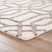 Corner View - Jaipur Bellevue Rug from City Collection CT07 - Light Gray