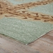 Corner View - Jaipur Sea Star Rug from Grant I-O Collection GD19 - Jadeite