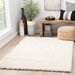 Room View - Jaipur Forte Rug from Milano Collection MIO02 - Egret