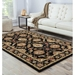 Room View - Jaipur Callisto Rug from Mythos Collection MY10 - Jet Black