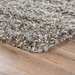 Corner View - Jaipur Nadia Rug from Nadia Collection ND01 - Timber Wolf