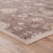 Corner View - Jaipur Nantes Rug from Poeme Collection PM105 - Seal Brown