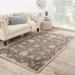 Room View - Jaipur Nantes Rug from Poeme Collection PM105 - Seal Brown