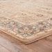 Corner View - Jaipur Lille Rug from Poeme Collection PM54 - Ashley Blue