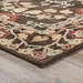 Corner View - Jaipur Rodez Rug from Poeme Collection PM58 - Coffee Bean