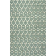 Jaipur Estrellas Rug From Barcelona I-O Collection - Cloud Cream/Beryl Green BA67