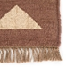 Jaipur Amman Rug From Bedouin Collection - Zinfandel/Wood Thrush  BD04-Corner