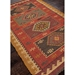 Jaipur Amman Rug From Bedouin Collection - Zinfandel/Wood Thrush  BD04-Floorshot