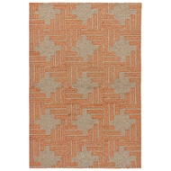 Jaipur Mineral Rug From Catalina Collection - Pale Khaki Amber Glow CAT40