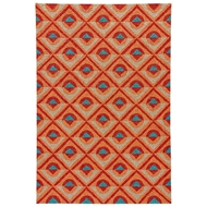 Jaipur Harrow Rug From Catalina Collection - Apricot Chili Pepper CAT47