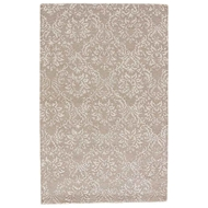 Jaipur Lana Rug From Crossley Collection - Aluminum/Oatmeal CRO03