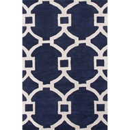 Jaipur Regency Rug From City Collection - Medieval Blue/Gardenia CT51