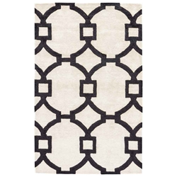 Jaipur Regency Rug From City Collection - White Swan Caviar CT95