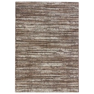Jaipur Escape Rug From Dash Collection - Turkish Coffee Fossil DSH14