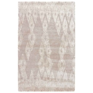 Jaipur Mulberry Rug From Etho By Nikki Chu Collection - Pumice Stone White Swan ENK09