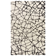 Jaipur Chandler Rug From Etho By Nikki Chu Collection - Birch Jet Black ENK12