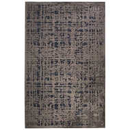Jaipur Dreamy Rug From Fables Collection - Dress Blues/Bungee Cord FB108