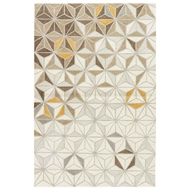 Jaipur Reid Rug From Fusion Collection - Birch Spruce Yellow FN57