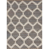 Jaipur Souk Rug From Feza Collection - Wild Dove/White Swan FZ02