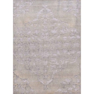 Jaipur Chantilly Rug From Heritage Collection - Dusty Blue/Silver Lining HR02