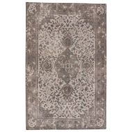 Jaipur Alessia Rug From Kai Collection - Vapor Blue/Bungee Cord KAI01