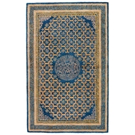 Jaipur Carrara Rug From Kilan Collection - Midnight Navy Total Eclipse KIL10