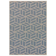 Jaipur Everet Rug From Knox Collection - Copen Blue Marzipan KNX02