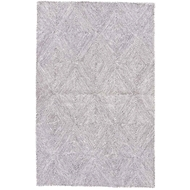 Jaipur Exhibition Rug From Traditions Made Modern Tufted Collection - Whisper White Beluga MMT19
