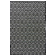 Jaipur Crover Rug From Nirvana Collection - Charcoal Gray/Moonless Night NIR01