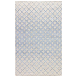Jaipur Winipeg Rug From Ridge Collection - Faded Denim Oatmeal RDG01
