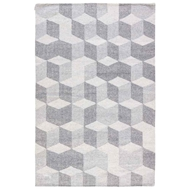 Jaipur Vista Rug From Ridge Collection - Wild Dove Vaporous Gray RDG04