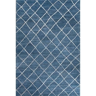 Jaipur Gem Rug From Riad Collection - Blue Ashes/Oyster Gray RIA02