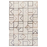 Jaipur Circuit Rug From Satellite Collection - Turtledove/Steel Gray SAT06
