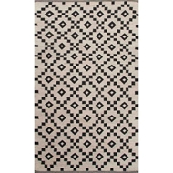 Jaipur Croix Rug From Scandinavia Nordic Collection - Turtledove/Jet Black SCN01