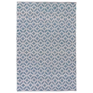 Jaipur Caprice Rug From Subra by Nikki Chu Collection - Indian Teal/Silver SNK16