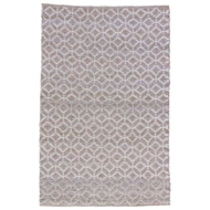 Jaipur Caprice Rug From Subra by Nikki Chu Collection - Fossil/Silver SNK18