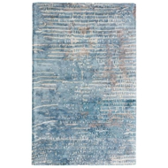 Jaipur Layloe Rug From Transcend Collection - Aegean Blue/Agate Gray TRD02