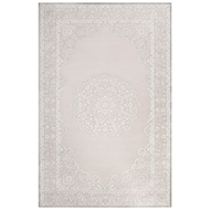 Jaipur Malo Rug From Fables Collection FB124 - Ivory/Gray