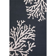 Jaipur Bough Out Rug From Grant I-O Collection GD48 - Blue/Ivory