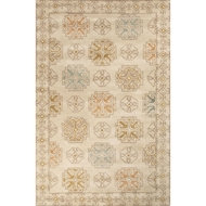 Jaipur Griffin Rug From Pendant Collection PEN06 - Beige/Yellow