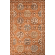 Jaipur Griffin Rug From Pendant Collection PEN07 - Orange/Blue