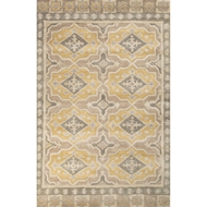 Jaipur Boulevard Rug From Pendant Collection PEN09 - Gray/Yellow