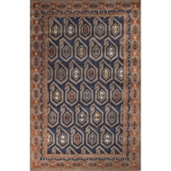 Jaipur Oakland Rug From Pendant Collection PEN10 - Blue/Orange
